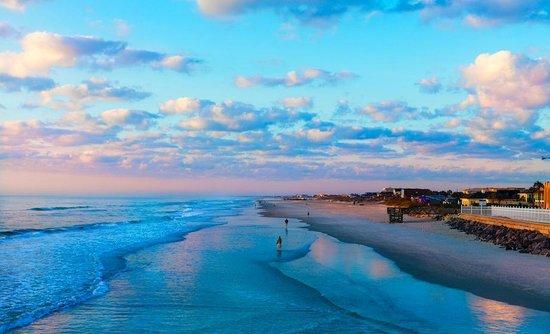 Ocean Sands Beach Inn: Sunrise in St Augustine