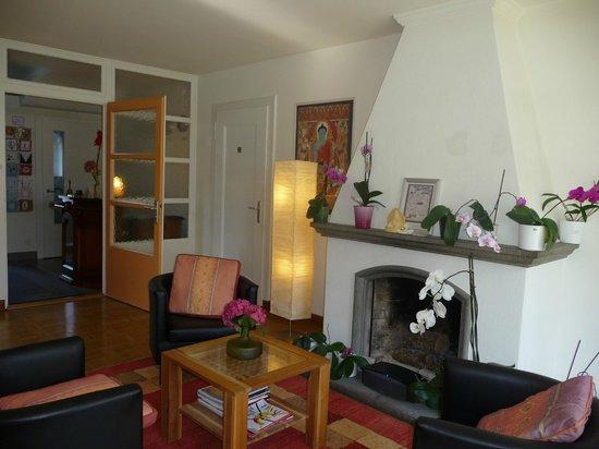 Pension Villa Maria : lounge area