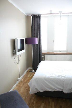 Hotel Aldoria: la stanza era molto luminosa