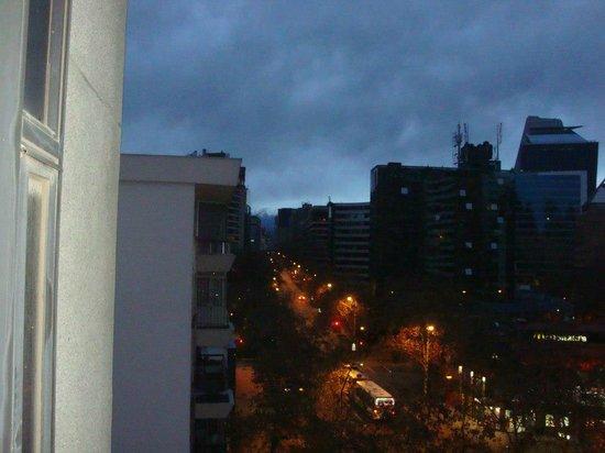 Apart Hotel La Fayette: Vista do Quarto