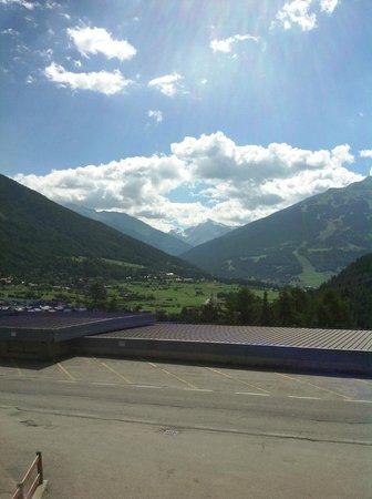 Residence Fior d'Alpe : la vista dalla terrazza