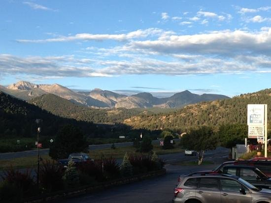 Alpine Trail Ridge Inn: view from our balcony