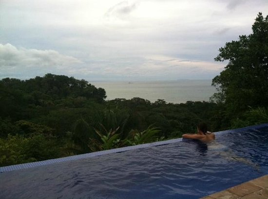 TikiVillas Rainforest Lodge & Spa : Infinity pool