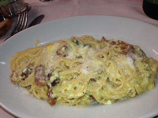 Trattoria da Giggi: Spaghetti alla carbonara