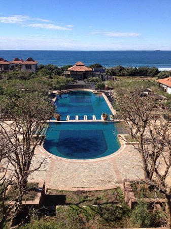 Zimbali Golf Course: The Main Pool taken from the hotel