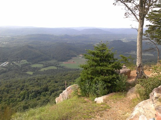 Cloudland Canyon State Park : view from mtn top
