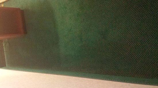 Silver Beach Hotel: gross gross carpet