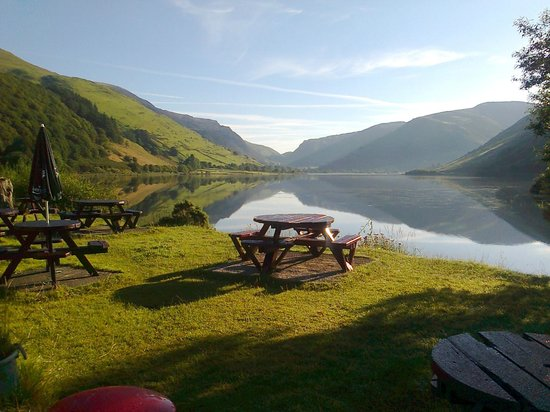 Pen-y-Bont Hotel: We are happy that we have kept this view public for everyone to enjoy!