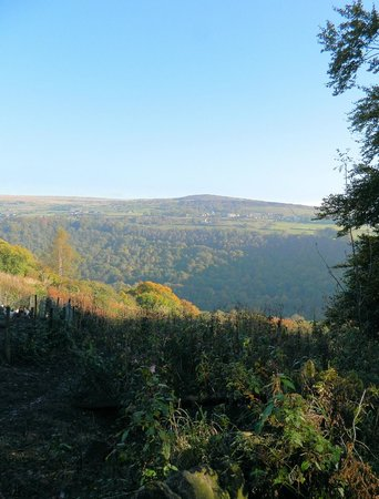 View accross the Calder valley from Heptonstall