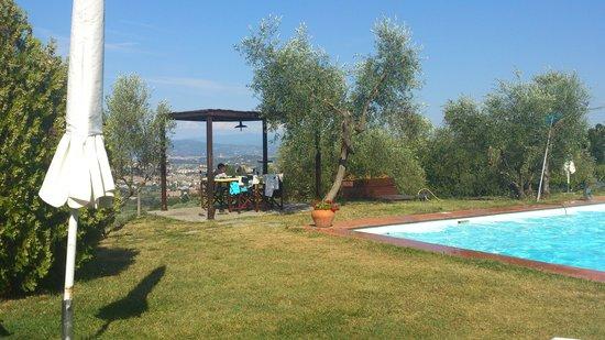 Villa La Pergola: LA PISCINE ET SA VUE MAGNIFIQUE