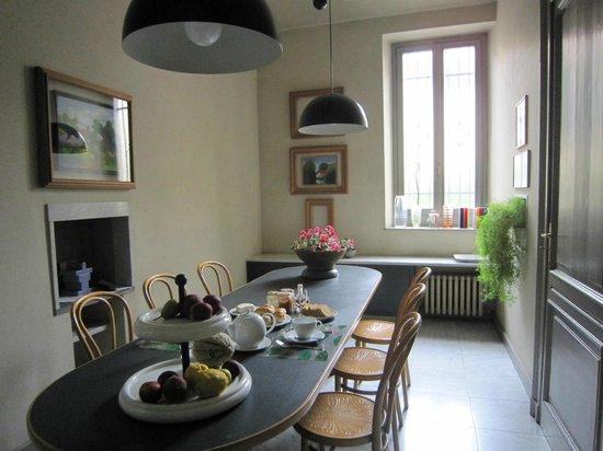B&B Il Giardino in Citta' : Dinner room