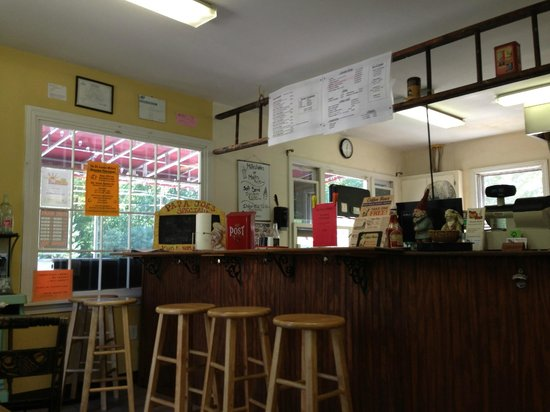 Papa Joe's Humble Kitchen: Menu Board lists all of the offerings