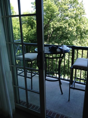 Diamond Mills Hotel: balcony in a deluxe room