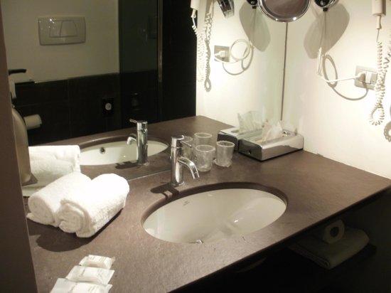 Hotel City Parma : lavandino