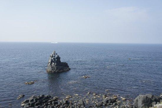 Sakyobana: 左京鼻の折柱