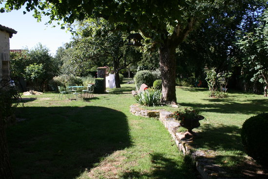 Le Tilleul de Lila: Le jardin
