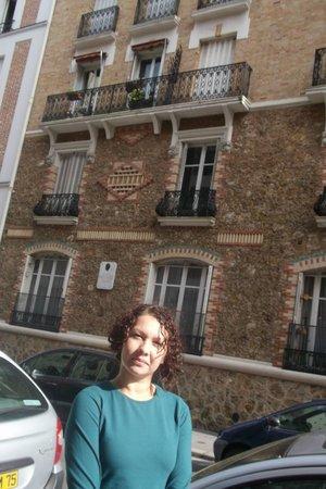 Hotel Montsouris Orleans: Foto da faixada
