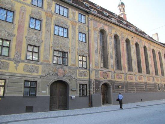 Historisches Rathaus: facciata