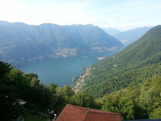Hotel Paradiso Sul Lago: Lake Como View from Room