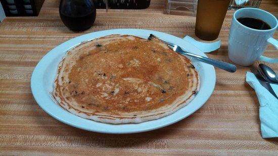 Chetek Cafe & Meat Shop: Best darn pancake.
