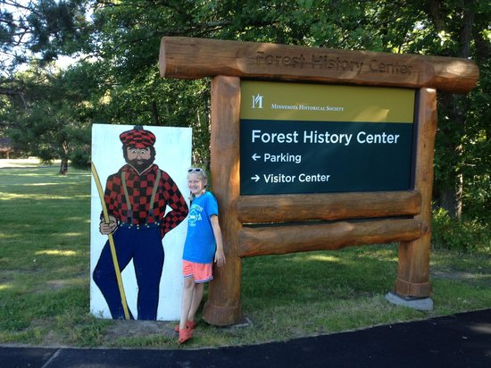 Forest History Center: Entrance