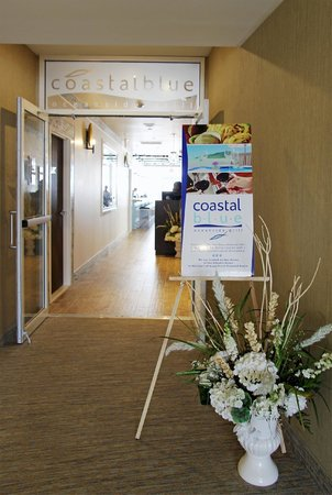 Entry to Coastal Blue Oceanside Grill