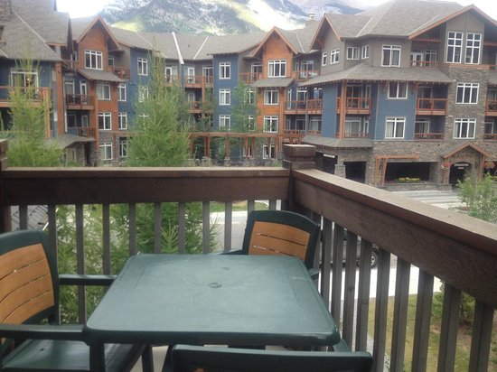 The Lodges at Canmore: The resort beside us.