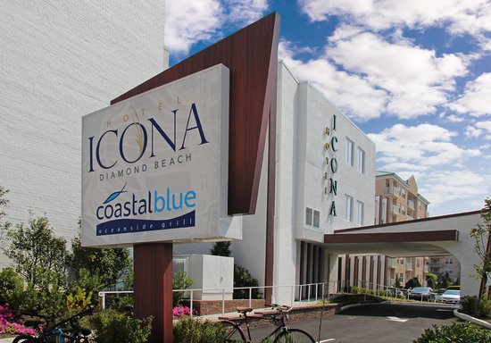Icona Diamond Beach: Hotel Exterior