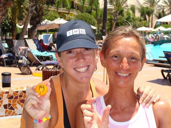 H10 Playa Meloneras Palace: Janice toujours souriante