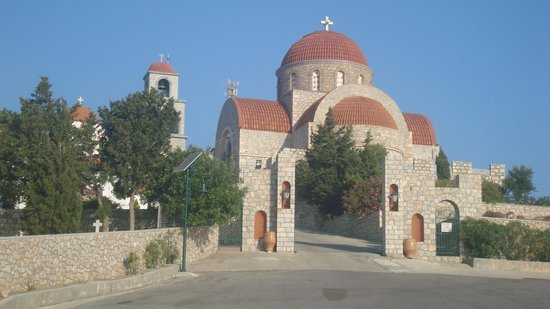 Pothia, Greece: chiesa