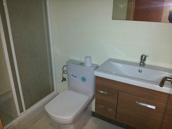 Apartamentos Venecia: baño apartamento