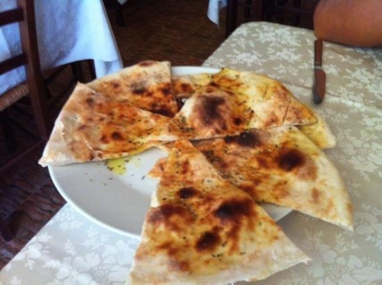 Pizzeria Trattoria Il Gabbiano: schiacciata