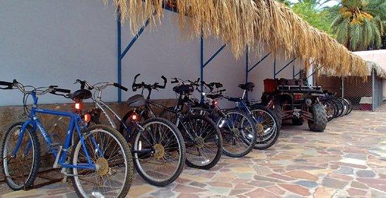 El Tiburon Casitas: Complimentary Bikes!