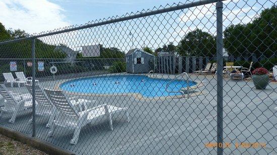 Ambassador Inn & Suites : Outside pool