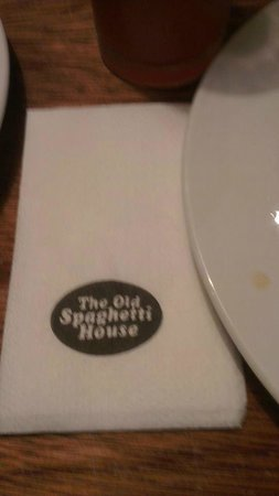 The Old Spaghetti House: awful service