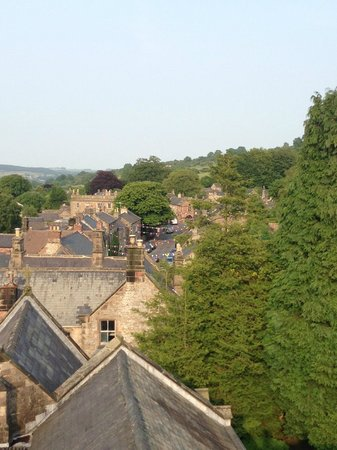 Old Shoulder of Mutton: View of Winster from the roof of the clock tower. Steven will take you up there! Incredible!