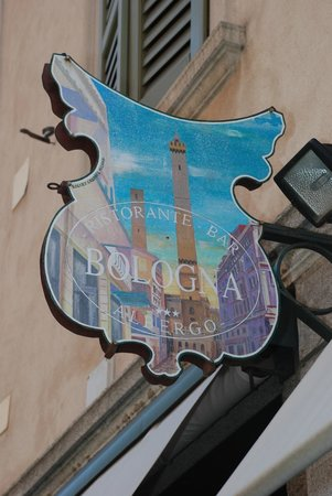 Albergo Ristorante Bologna: bordje