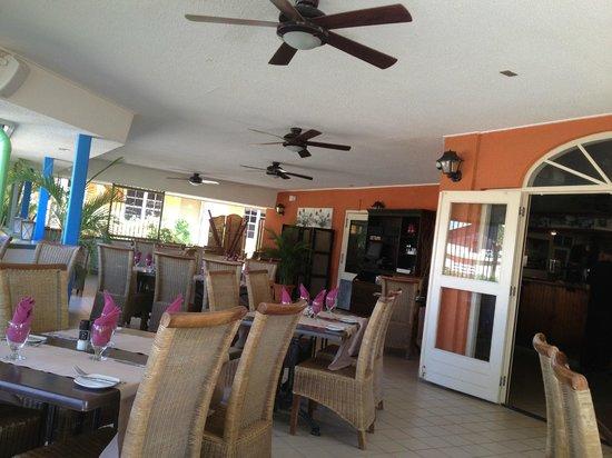 MVC Eagle Beach: Restaurante Tulip