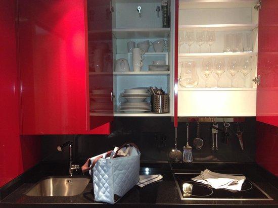 Nexus Benalmadena Suites & Apartments: Cocina genial