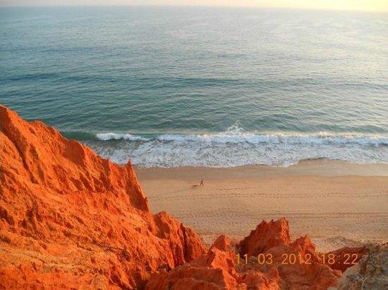 Playa de Falésia: Praia da Falesia