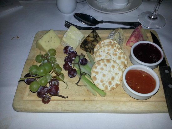 Towers Hotel: The Cheese Board