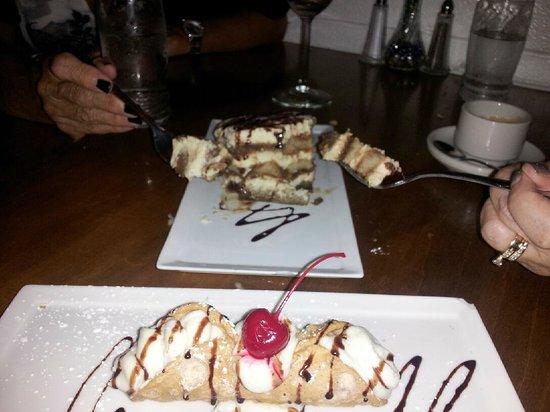 Cucina Di Zucchero: Tiramisu & Cannoli