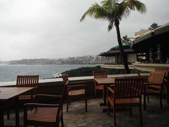 Don the Beachcomber: view the day flossie blew thru