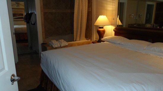 Westgate Flamingo Bay Resort : Quarto que deveria ter vindo com 2 camas.