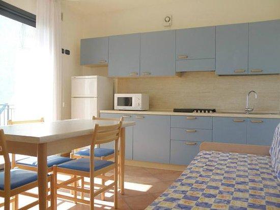 Hotel Atlantico : cucina/soggiorno