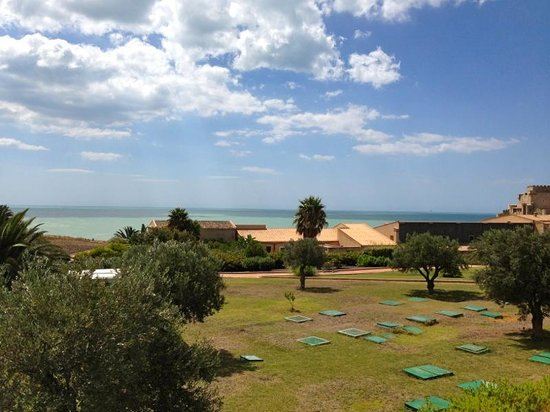 Falconara Charming House Resort & SPA : Vista camera - Mare