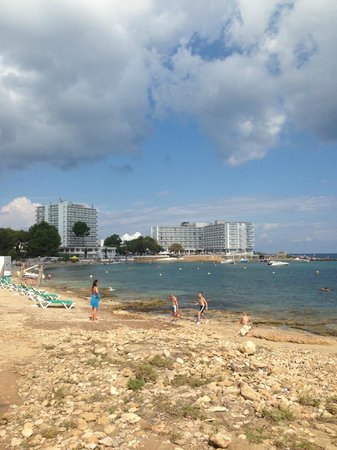 Hotel Playasol Riviera : on the beach on the bay