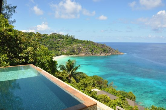 again amazing view picture of four seasons resort seychelles baie lazare tripadvisor. Black Bedroom Furniture Sets. Home Design Ideas