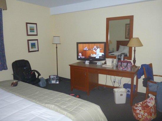Hotel St. Bernard: room