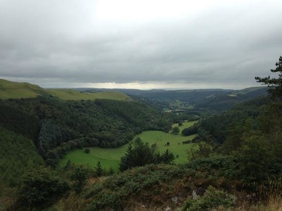Bwlch Nant yr Arian Forest Visitor Centre: lovely view!